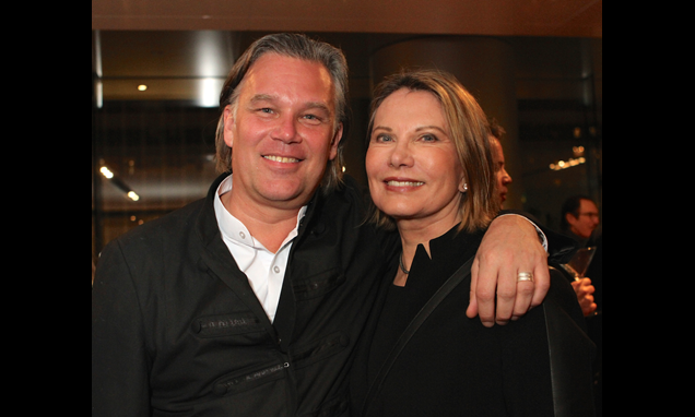 Mikael Svensson and Maud Adams